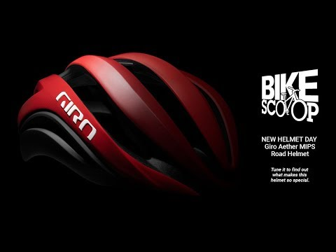 Bike Scoop, comin' to you from the Dome at Giro HQ for the Launch of the New Aether Road Helmet