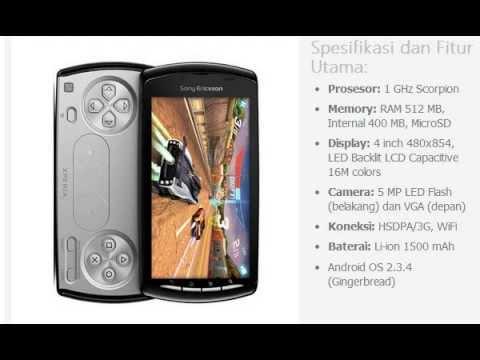 Harga HP: SONY Ericsson Xperia Play