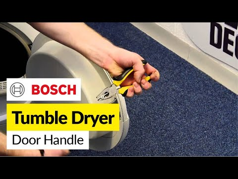 How to Replace a Tumble Dryer Door Handle (Bosch)