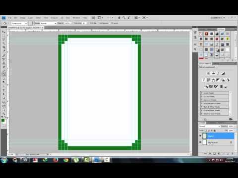 frame or border in photoshop (Part1)