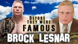 BROCK LESNAR - Before They Were Famous - BIOGRAPHY