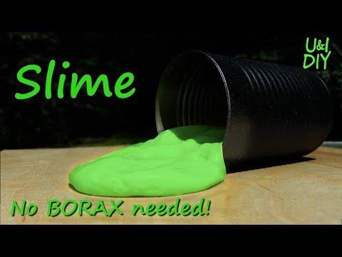 How to make Slime - DIY Tutorial