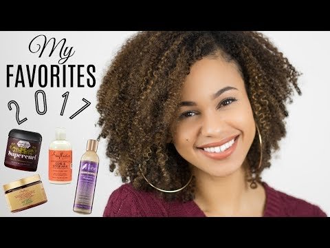 My Favorite Natural Hair Products 2017
