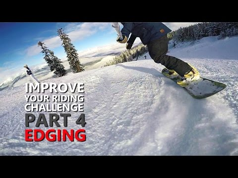Improve Your Snowboarding Challenge | Part 4 - Edging
