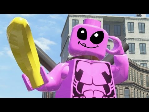 LEGO Marvel Superheroes - PINK DEADPOOL FREE ROAM GAMEPLAY