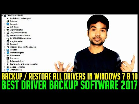 HOW TO BACKUP DRIVER IN WINDOWS 7 8 10 and RESTORE BACK | BEST BACKUP SOFTWARE 2017 | PC REPAIR