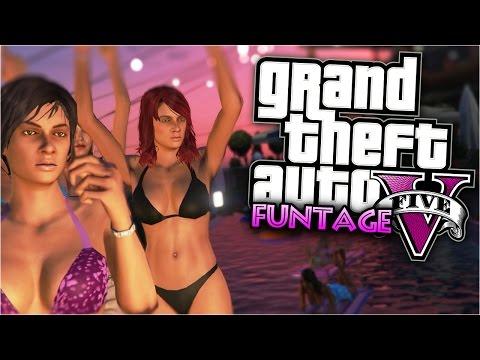 GTA 5 Funny Moments | Biggest Party In Los Santos (Amazing GTA 5 Party Mod)