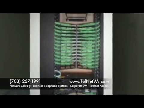 Virginia Cabling Contractor | Data Cabling | Installation | Network | Wiring | VA