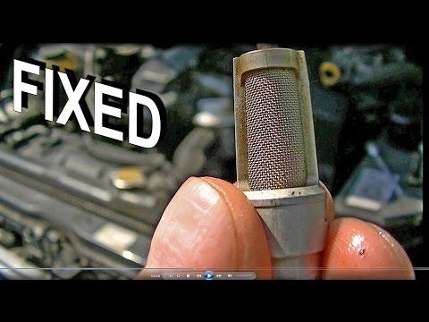 Lexus check engine trc light FIXED czyszczenie filtra VVti