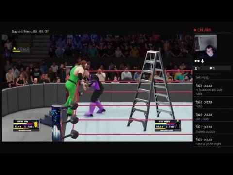 WWE2k18 MyCareer