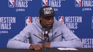 Kevin Durant Postgame Interview / Gs Warriors Vs Rockets Game 7