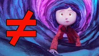 Neil Gaiman vs Laika: Fantasy and Reality in Coraline - What's the Difference?