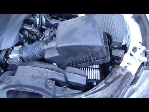 How to replace air filter Mazda 6. Years 2013 to 2019.