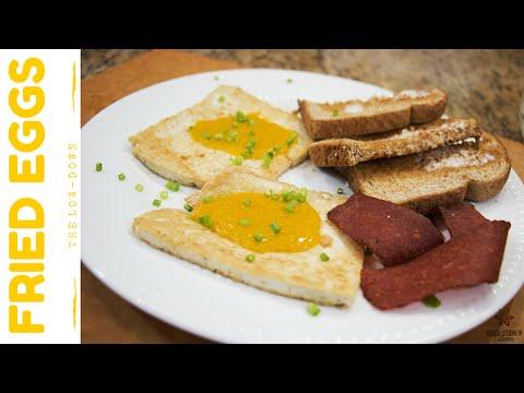 Fried Eggs!!   Vegan Recipe