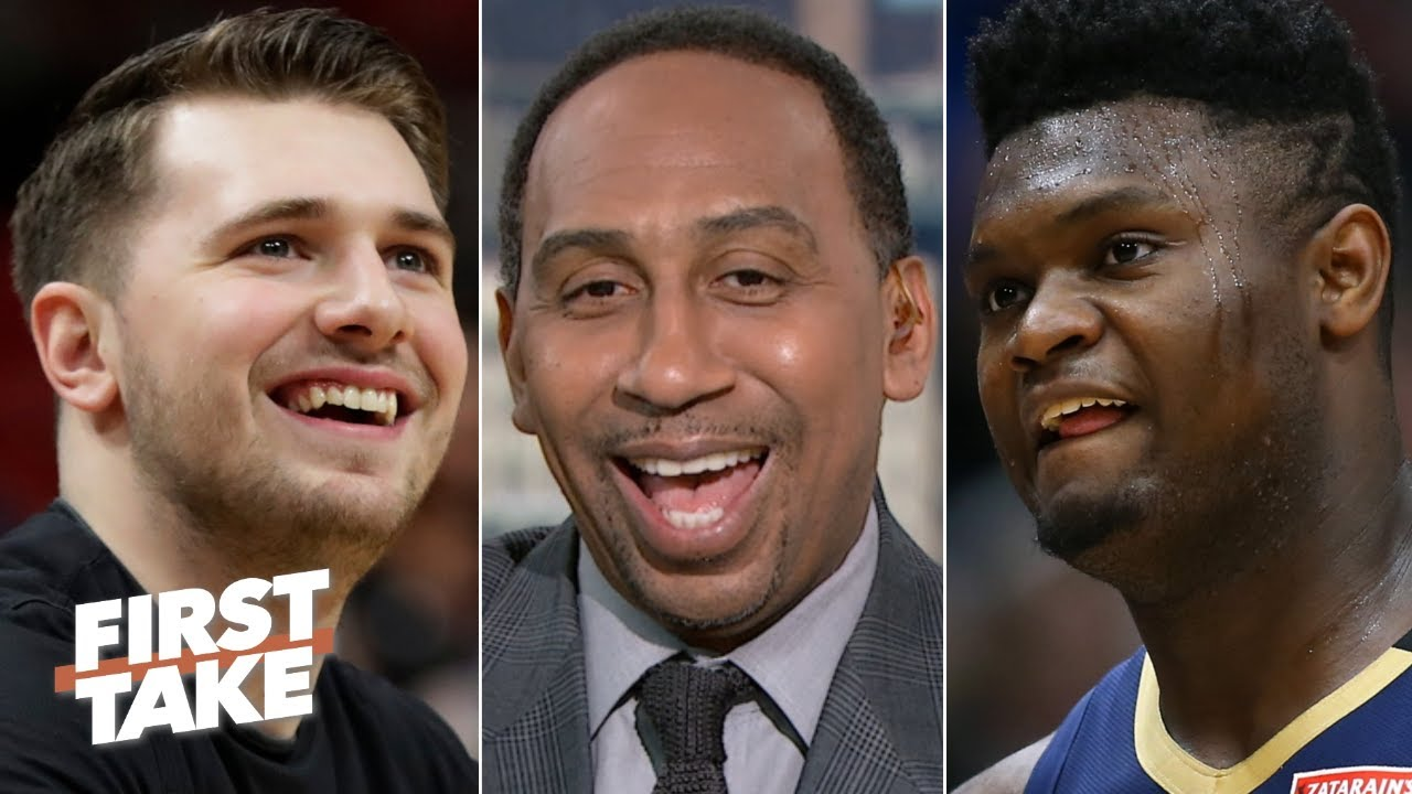 Stephen A. would take Luka Doncic over Zion Williamson | First Take