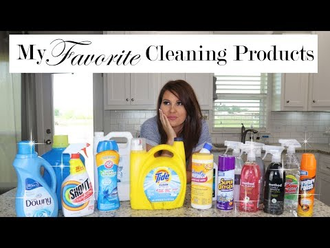 FAVORITE CLEANING PRODUCTS | WHERE I USE THEM | ROOM BY ROOM