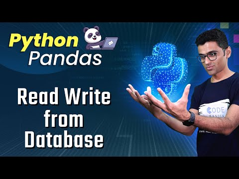 Pandas Tutorial 14: Read Write Data From Database (read_sql, to_sql)