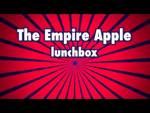Empire Apples lunchbox bruise test