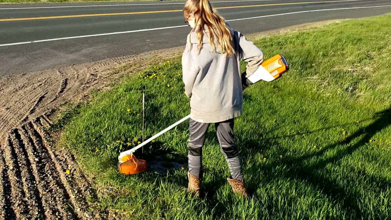 Stihl Battery Weed Whacker Review FSA 90R