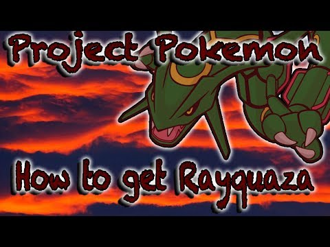 HOW TO GET RAYQUAZA! (3 AURA CELEBI) - Roblox Project Pokemon