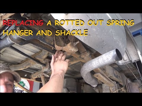 Installing Dorman Spring Shackles & Hangers On A Chevy/GMC Truck