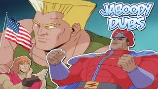 Street Fighter Cartoon Dubs: The American Hero