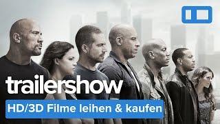 Trailershow | Fast & Furious 7 | Wild Card | Neuheiten in HD 3D 5.1