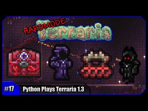 Python Plays Terraria || Biome Shielding & The Crimson Mimic! || Terraria  1 3 PC Let's Play [#17] - playithub com