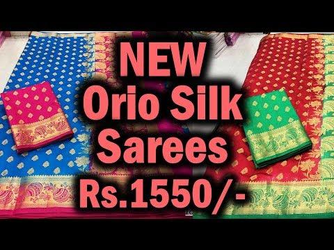 New Orio Silk Saree Collection | Orio Silk Saree Designs