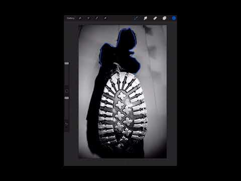 How to Trace Your Pictures with iPad and ProCreate App