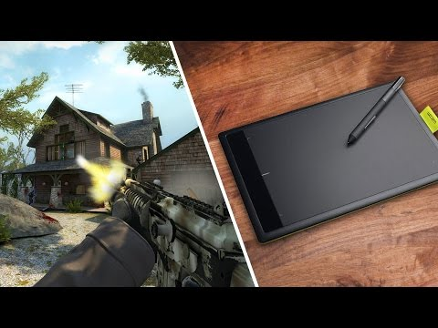 Using a Drawing Tablet for Gaming?