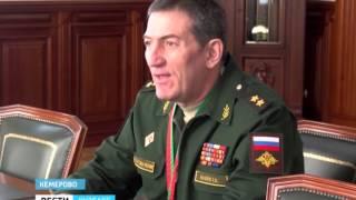 Рабочая поездка заместителя командующего войсками Центрального военного округа