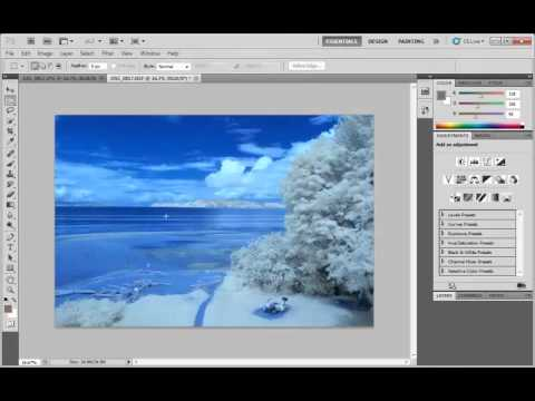 White Balance in Photoshop With IR Cameras