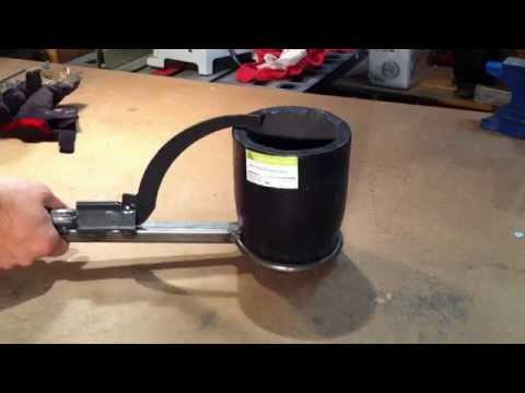 Backyard Foundry DIY tools - pouring shank