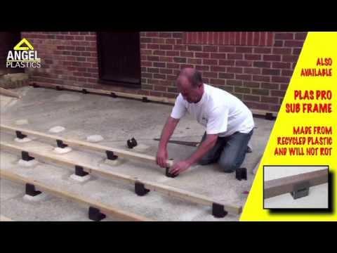 How to Install Millboard Garden Decking | Angel Plastics
