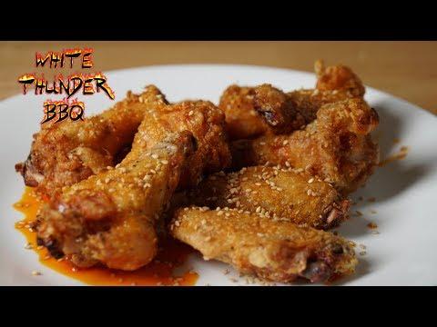 Korean Grill Fried Chicken Wings