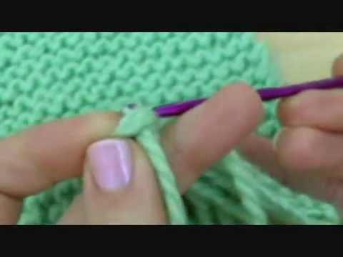 How to Knit -  How to make Fringes for a Scarf [knitting tutorial]