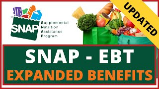 SNAP Expanded Benefits & Pandemic EBT(P-EBT) Explained: California & Other States (SNAP Food Stamps)
