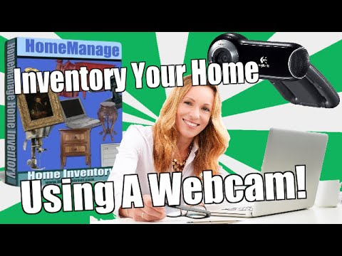 How To Inventory Your Home Using a Webcam