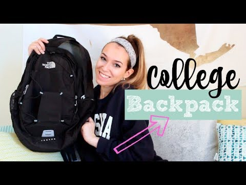 What's in my Backpack for College!