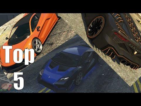 GTA Online Top 5 Free Roam Super Cars – Grand Theft Auto Online