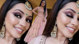 MAKEUP TRANSFORMATION INDIAN WEDDING GET READY WITH ME | KAUSHAL BEAUTY