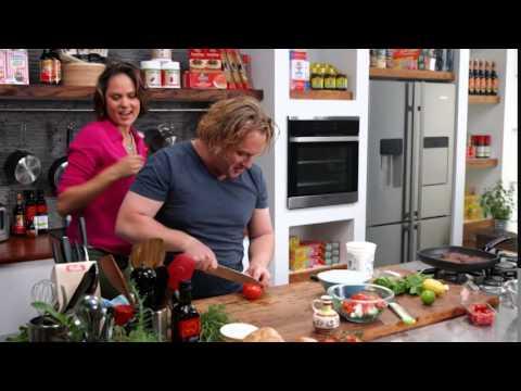 How to prepare and cook Kangaroo Burgers