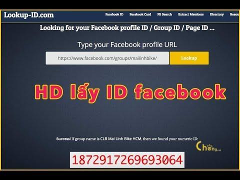 Cách ID Fanpage, Group, Facebook cá nhân
