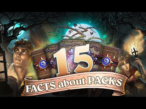 15 FACTS about Hearthstone PACKS! The Witchwood, How many packs to buy and Legendary chances!