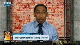 """Stephen A. Smith """"heartbreaking"""": Should Lakers consider trading LeBron James? 
