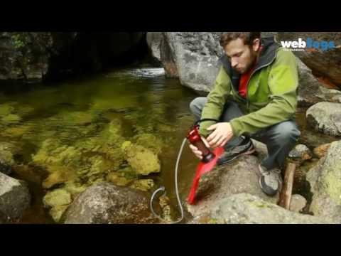 How to use the MSR MiniWorks EX Microfilter for clean water outdoors