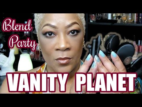 VANITY PLANET BLEND PARTY OVAL MAKEUP BRUSH KIT REVIEW + how to use oval makeup brushes tutorial