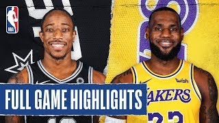 SPURS at LAKERS | FULL GAME HIGHLIGHTS | February 4, 2020