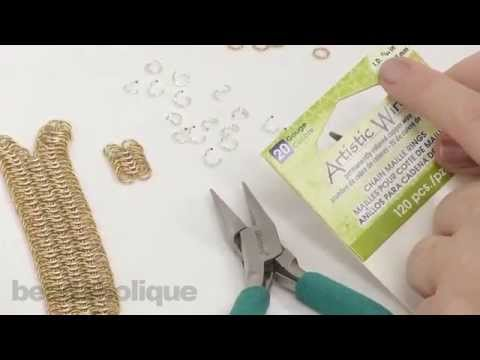 How to do European 6 in 1 Chain Maille